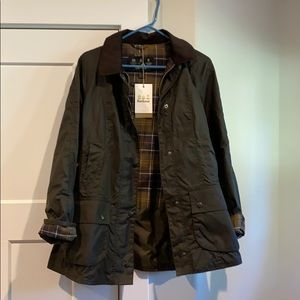 Barbour Waxed Jacket Olive